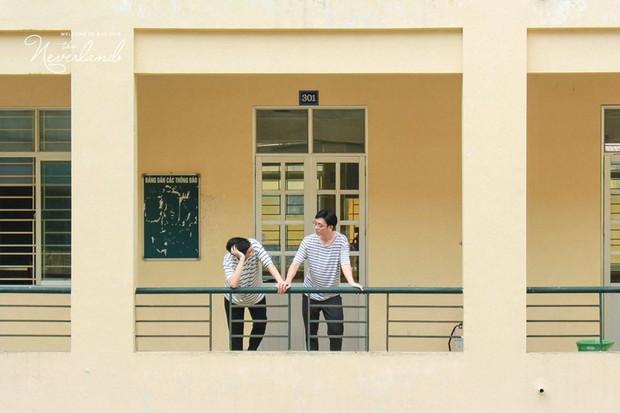 Gửi thanh xuân năm ấy: Bộ ảnh của 2 sinh viên trường Báo khiến dân mạng rung rinh vì quá dễ thương - Ảnh 3.
