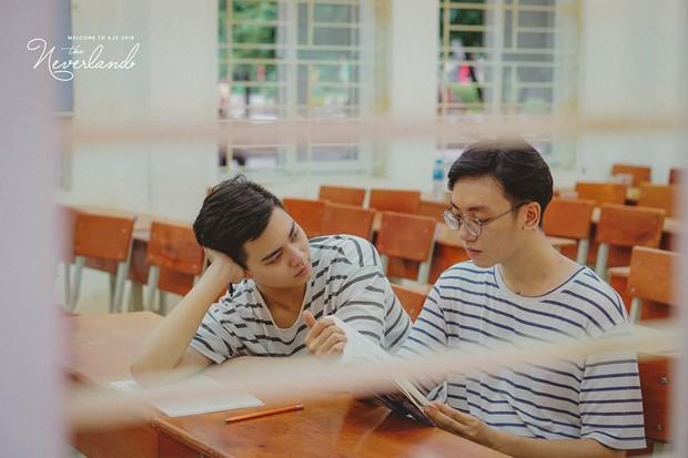 Gửi thanh xuân năm ấy: Bộ ảnh của 2 sinh viên trường Báo khiến dân mạng rung rinh vì quá dễ thương - Ảnh 6.