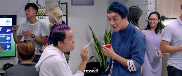 Có thể nói, Ngọc Trai và Hoàng Phi là 2 chàng trai chuyên trị vai phụ vừa lầy vừa duyên nhất màn ảnh Việt - Ảnh 3.