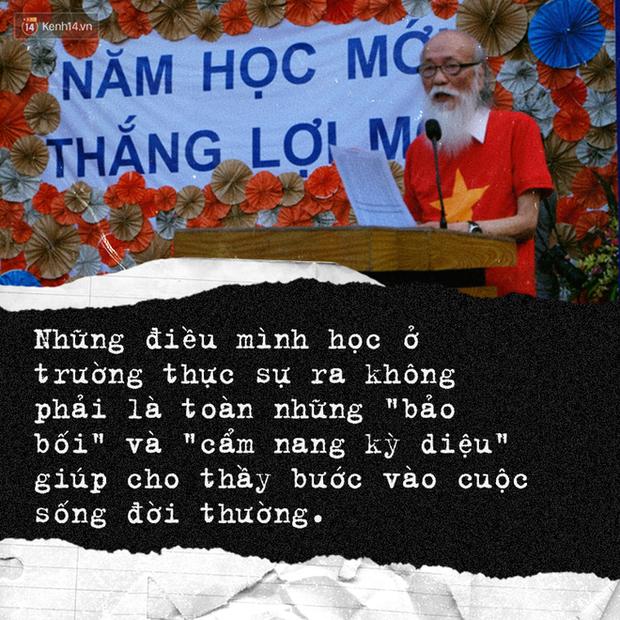 Sau hơn 3 năm, bài phát biểu đầy cảm động của thầy Văn Như Cương trong lễ khai giảng lại được dân mạng chia sẻ rầm rộ - Ảnh 2.
