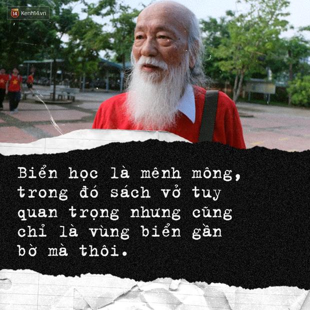 Sau hơn 3 năm, bài phát biểu đầy cảm động của thầy Văn Như Cương trong lễ khai giảng lại được dân mạng chia sẻ rầm rộ - Ảnh 3.