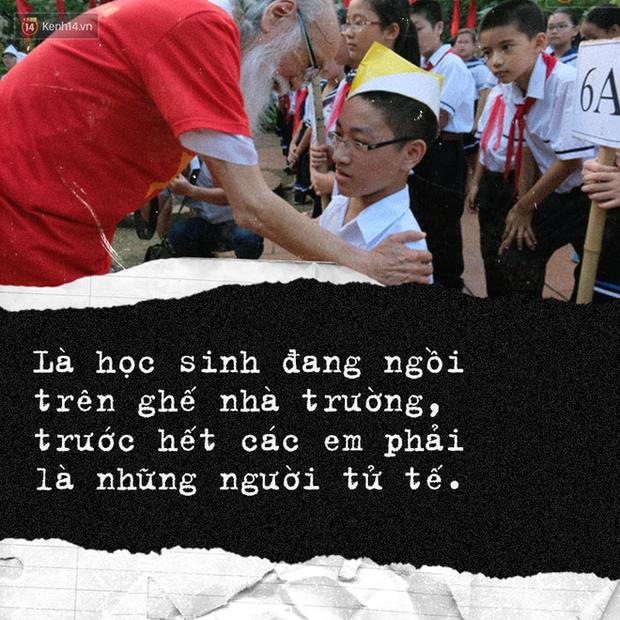 Sau hơn 3 năm, bài phát biểu đầy cảm động của thầy Văn Như Cương trong lễ khai giảng lại được dân mạng chia sẻ rầm rộ - Ảnh 4.