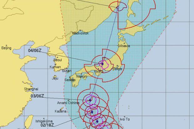 Những thước phim ghi lại sự tàn phá kinh hoàng của siêu bão Jebi khi đổ bộ vào Nhật Bản - Ảnh 1.