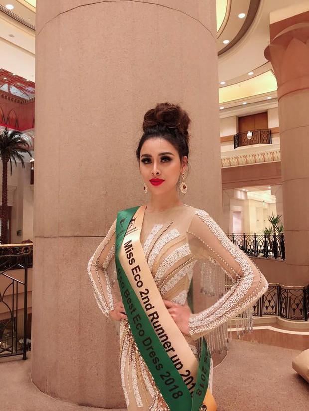 Thư Dung bị thu hồi danh hiệu Á hậu 2 Miss Eco International 2018 - Ảnh 2.