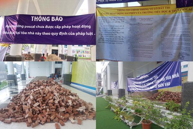 Vụ trường học bị đổ gạch, cát ở Hà Nội: Tình hình tồi tệ hơn sau khi Sở GDĐT vào cuộc - Ảnh 1.