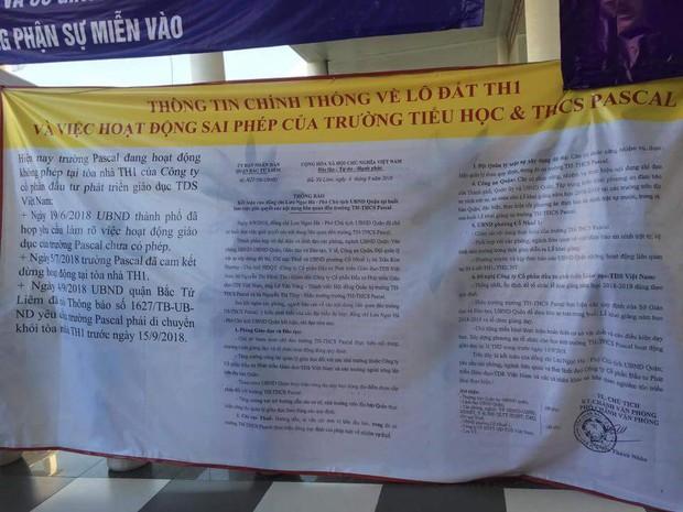 Vụ trường học bị đổ gạch, cát ở Hà Nội: Tình hình tồi tệ hơn sau khi Sở GDĐT vào cuộc - Ảnh 5.