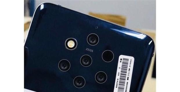 Nokia 9 lần đầu lộ ảnh thật, thấy rõ cụm 5 camera ZEISS phía sau - Ảnh 2.
