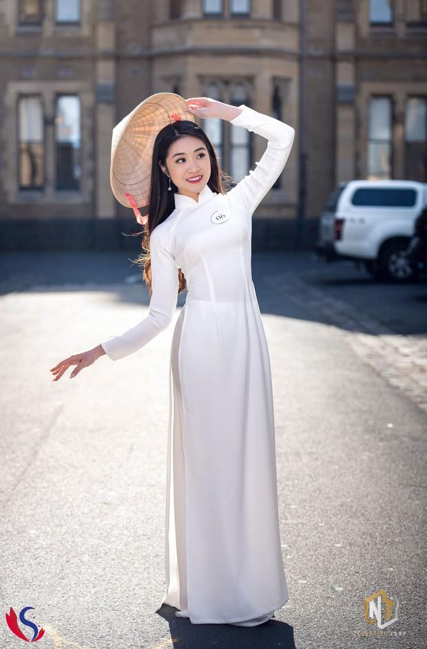 Ngắm dàn thí sinh của cuộc thi Hoa khôi du học sinh tại Úc: Con gái Việt dù ở bất cứ đâu, cứ diện áo dài là xinh! - Ảnh 4.