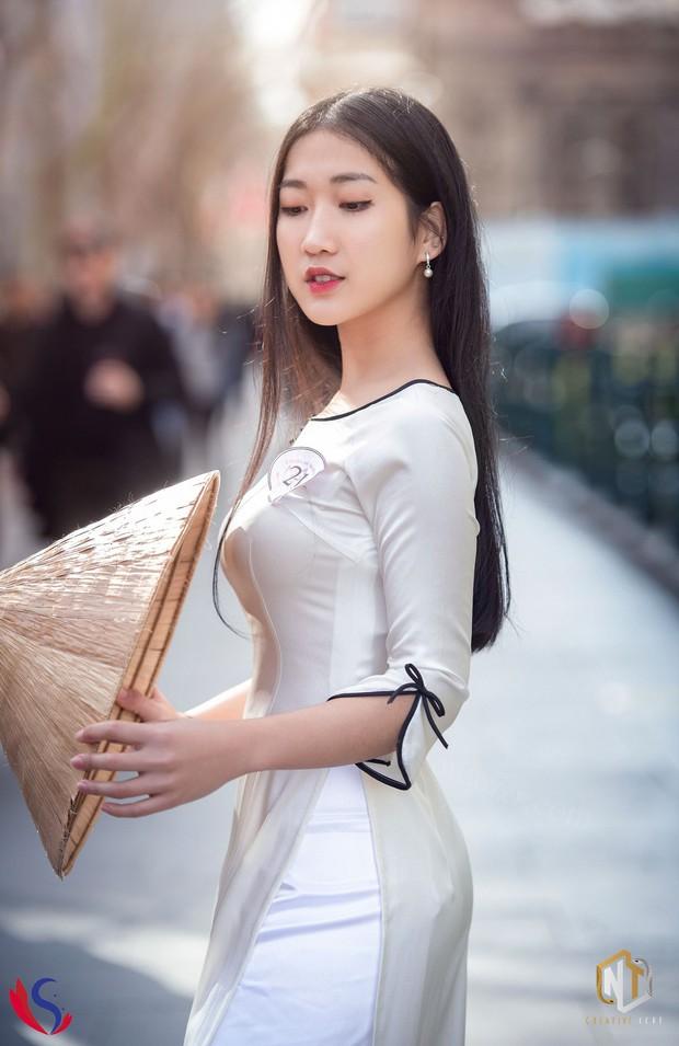 Ngắm dàn thí sinh của cuộc thi Hoa khôi du học sinh tại Úc: Con gái Việt dù ở bất cứ đâu, cứ diện áo dài là xinh! - Ảnh 5.