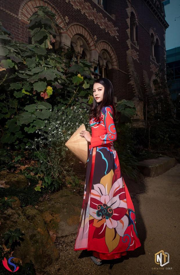 Ngắm dàn thí sinh của cuộc thi Hoa khôi du học sinh tại Úc: Con gái Việt dù ở bất cứ đâu, cứ diện áo dài là xinh! - Ảnh 2.