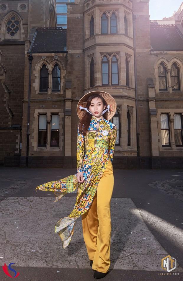 Ngắm dàn thí sinh của cuộc thi Hoa khôi du học sinh tại Úc: Con gái Việt dù ở bất cứ đâu, cứ diện áo dài là xinh! - Ảnh 7.