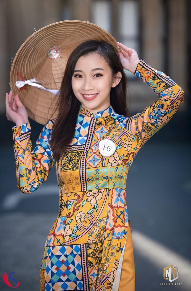 Ngắm dàn thí sinh của cuộc thi Hoa khôi du học sinh tại Úc: Con gái Việt dù ở bất cứ đâu, cứ diện áo dài là xinh! - Ảnh 12.