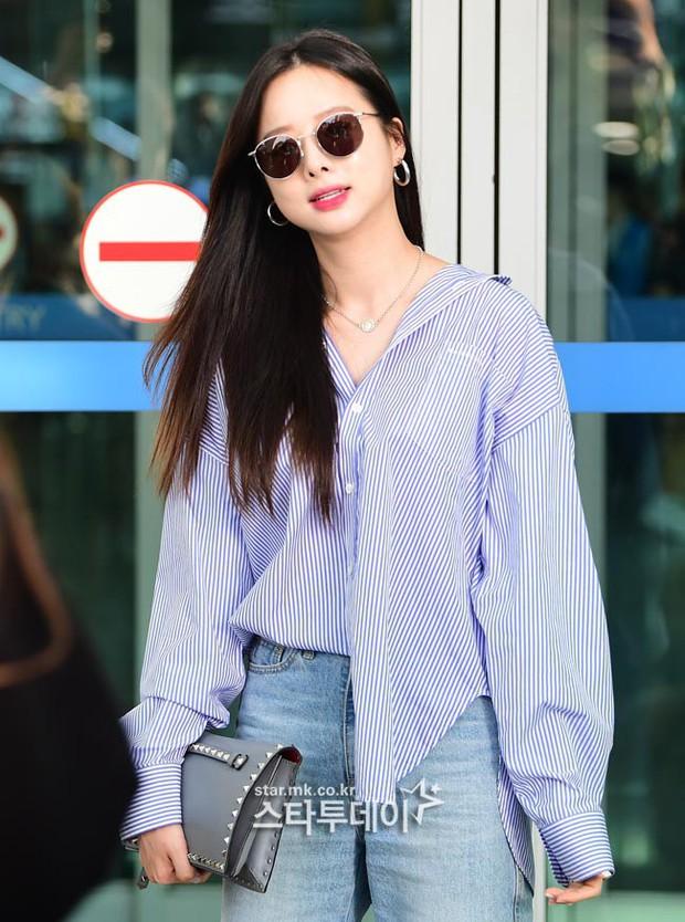 Màn đọ sắc khủng nhất tại sân bay: Black Pink đẹp miễn chê, Hani khoe body thần thánh bên EXID, Lee Jong Suk - Ảnh 22.