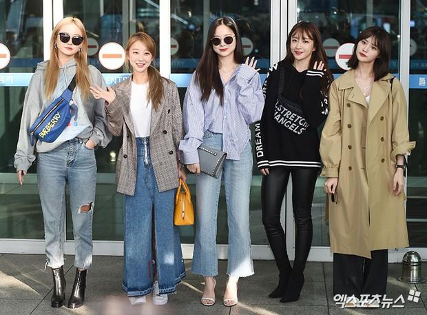 Màn đọ sắc khủng nhất tại sân bay: Black Pink đẹp miễn chê, Hani khoe body thần thánh bên EXID, Lee Jong Suk - Ảnh 25.
