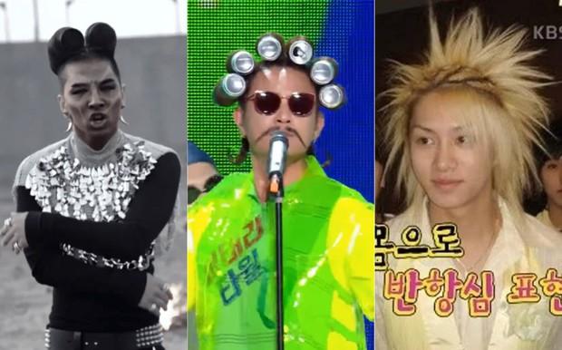 """Mang kiểu tóc dị hợm lên sân khấu, nam ca sĩ nhận biệt danh """"hậu duệ TaeYang"""", """"đối thủ của HeeChul"""" - Ảnh 6."""