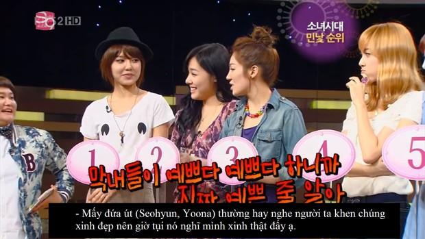 Yoona chỉ đứng thứ 6 trong bảng xếp hạng mặt mộc của SNSD, vị trí số 1 là... - Ảnh 16.