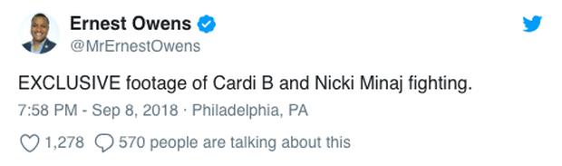 Loạt clip chế và bình luận vui đừng hỏi về vụ Cardi B đánh nhau tung giời với Nicki Minaj giữa sự kiện - Ảnh 4.
