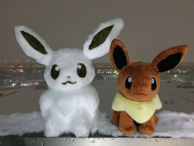 Tuyết rơi dày kỷ lục ở Nhật Bản, người dân đã vô tình tạc nên những bức tượng đẹp tới không ngờ - Ảnh 17.