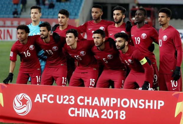 Bán kết chưa diễn ra nhưng dân mạng đã gấp rút tìm info trai đẹp của U23 Qatar - Ảnh 2.