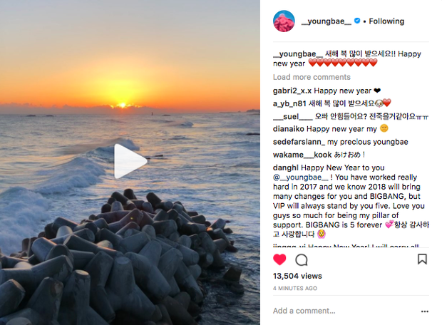 Sao Hàn mừng năm mới 2018: Vợ chồng Song Song rạng rỡ, Big Bang, Wanna One bận rộn đi diễn, Jessica sang hẳn Trung Quốc - Ảnh 14.