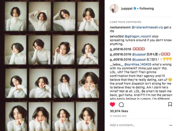 Sau nhiều ngày im ỉm, bạn gái G-Dragon tung loạt ảnh hậu trường tạp chí chứng minh nhan sắc tự nhiên - Ảnh 1.