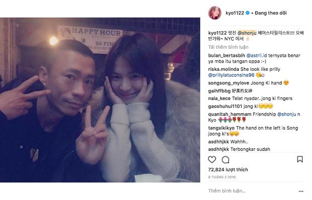 Hiếm lắm mới đăng story Instagram, Song Hye Kyo bỗng thân thiết bên người đàn ông lạ mặt - Ảnh 8.