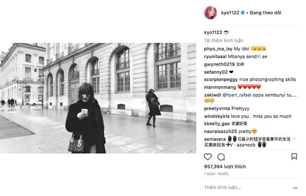 Cùng ông xã Song Joong Ki đến Pháp dự sự kiện, Song Hye Kyo khoe ảnh xinh đẹp như búp bê lên Instagram - Ảnh 1.