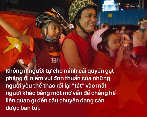 Chiến thắng U23 Việt Nam: Tình yêu bóng đá chẳng tội tình gì, cứ vui thôi có được không! - Ảnh 2.