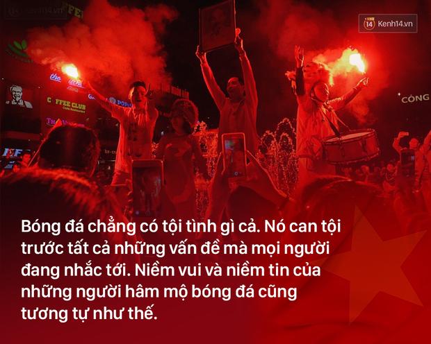 Chiến thắng U23 Việt Nam: Tình yêu bóng đá chẳng tội tình gì, cứ vui thôi có được không! - Ảnh 3.