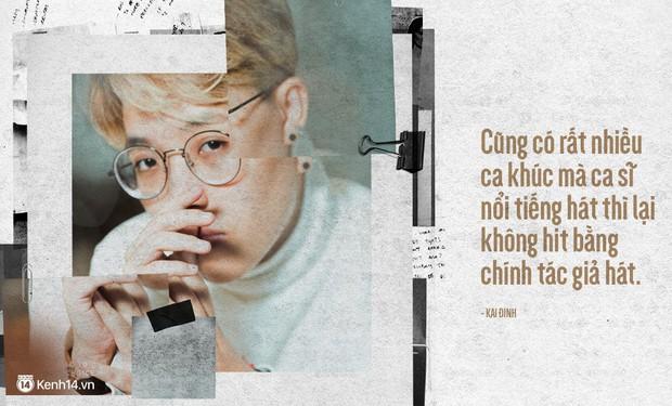 Kai Đinh: Hồi đó tôi rất ấu trĩ, thấy bài nào hit lên là dễ dàng đánh giá nhạc thị trường - Ảnh 5.
