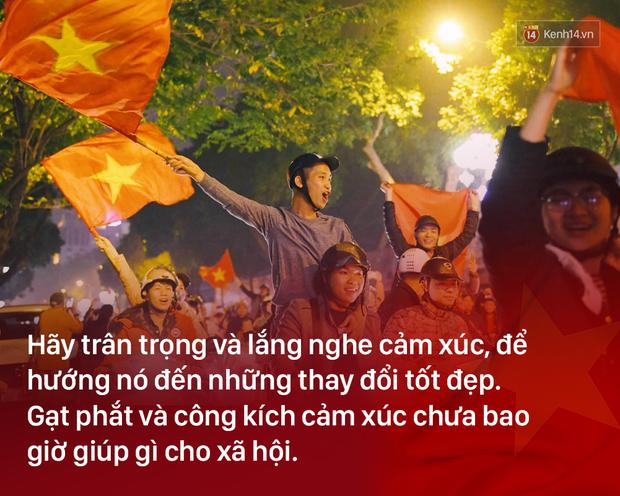 Chiến thắng U23 Việt Nam: Tình yêu bóng đá chẳng tội tình gì, cứ vui thôi có được không! - Ảnh 6.