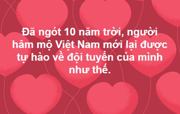Dân mạng không ngớt lời chúc mừng chiến thắng lịch sử của U23 Việt Nam - Ảnh 11.