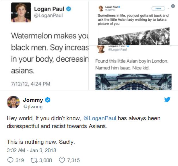 Sau video khu rừng tự tử, Youtuber nổi tiếng Logan bị vạch trần với nhiều trò lố, phản cảm và phân biệt chủng tộc tại Nhật - Ảnh 12.