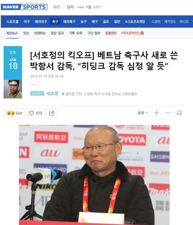 Báo Hàn phân tích tại sao Park Hang Seo là Guus Hiddink của Việt Nam - Ảnh 1.