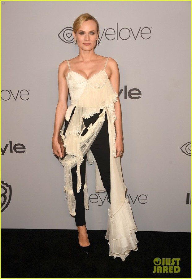 Miranda Kerr bụng bầu vượt mặt vẫn đẹp lộng lẫy, đọ sắc với dàn sao tại tiệc hậu Quả Cầu Vàng - Ảnh 12.