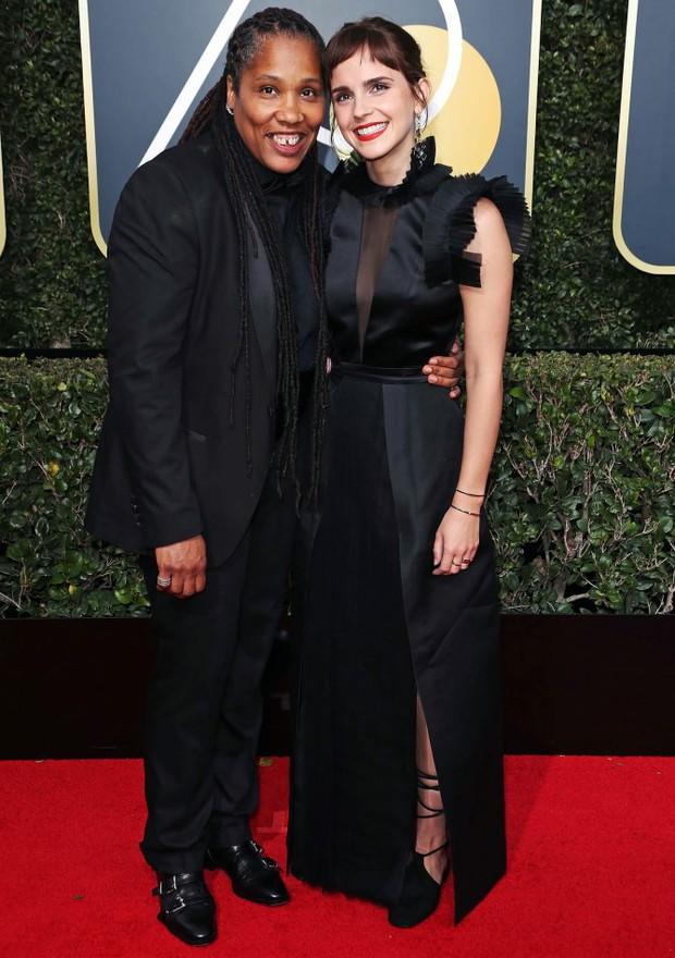 Thảm đỏ Quả Cầu Vàng 2018 ấn tượng hơn bội phần vì dàn mỹ nhân Hollywood mặc đồ đen - Ảnh 4.