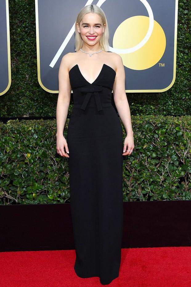 Thảm đỏ Quả Cầu Vàng 2018 ấn tượng hơn bội phần vì dàn mỹ nhân Hollywood mặc đồ đen - Ảnh 11.