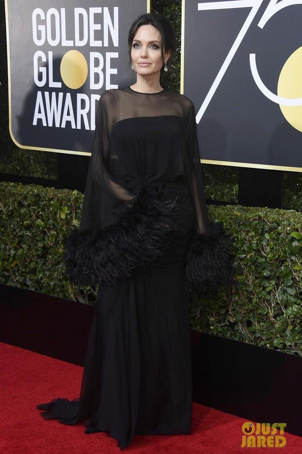 Thảm đỏ Quả Cầu Vàng 2018 ấn tượng hơn bội phần vì dàn mỹ nhân Hollywood mặc đồ đen - Ảnh 1.