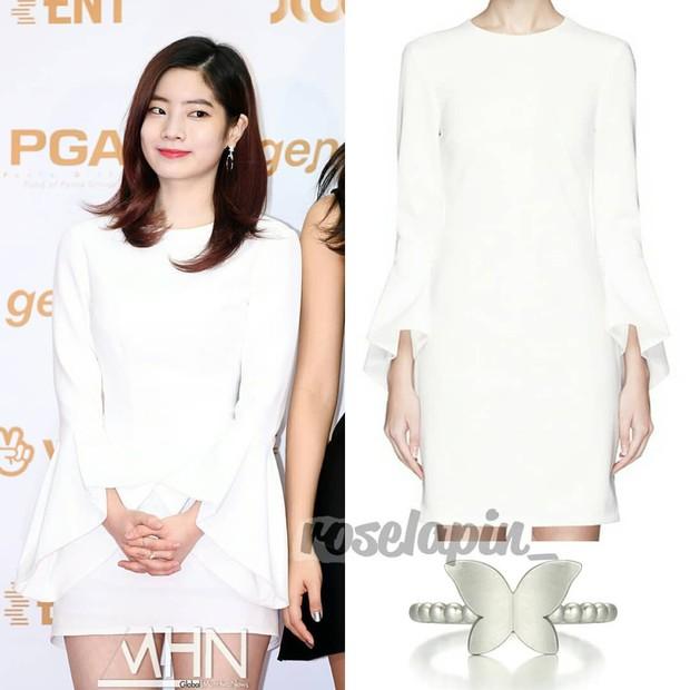 Bóc mác thời trang Golden Disc Awards 2018: Jennie Kim, Nayeon, Irene diện đồ hàng chục triệu đồng; IU, Lisa khiêm tốn với váy áo bình dân - Ảnh 14.