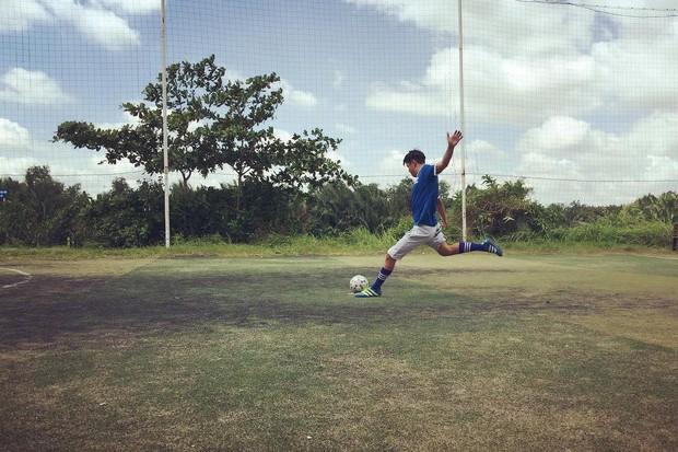 U23 có dàn cầu thủ đẹp trai như hot boy, còn đây là khi hot boy Việt mặc quần đùi áo số! - Ảnh 6.