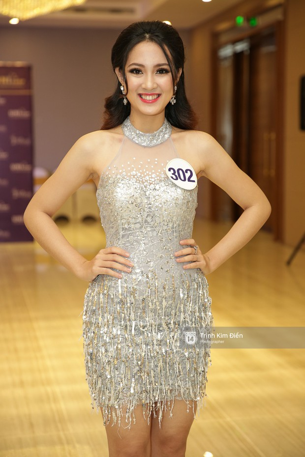 42 thí sinh Hoa hậu Hoàn vũ VN xuất hiện rạng rỡ tại họp báo, BTC công bố vương miện dành riêng cho Á hậu - Ảnh 17.