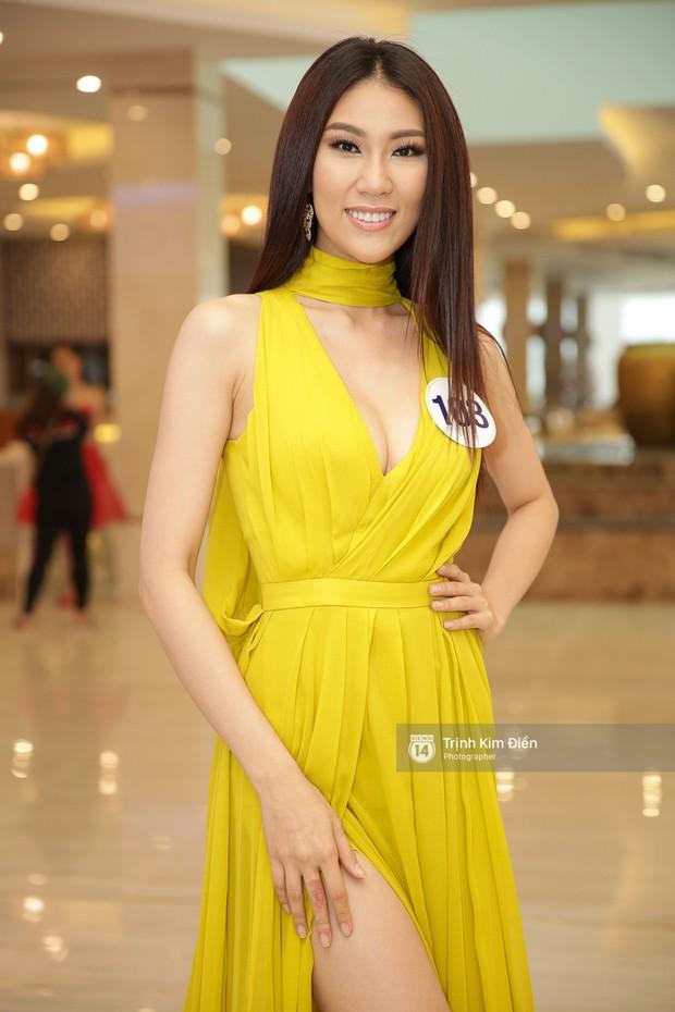 42 thí sinh Hoa hậu Hoàn vũ VN xuất hiện rạng rỡ tại họp báo, BTC công bố vương miện dành riêng cho Á hậu - Ảnh 10.