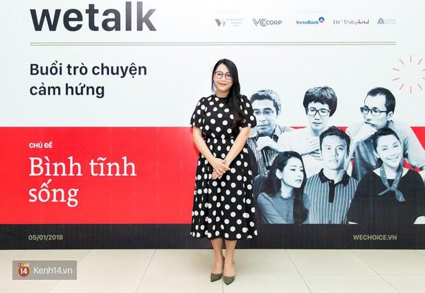 Bình tĩnh sống - Buổi trò chuyện tràn đầy cảm hứng của WeTalk 2017! - Ảnh 16.