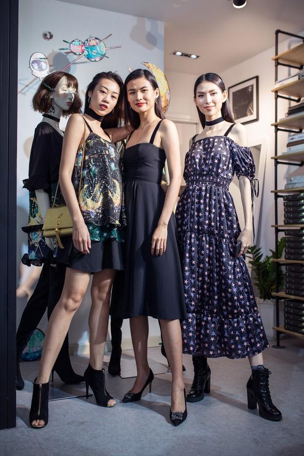 Phạm Quỳnh Anh, Tóc Tiên và team Sang đọ sắc, xinh đẹp rạng rỡ tại sự kiện - Ảnh 1.