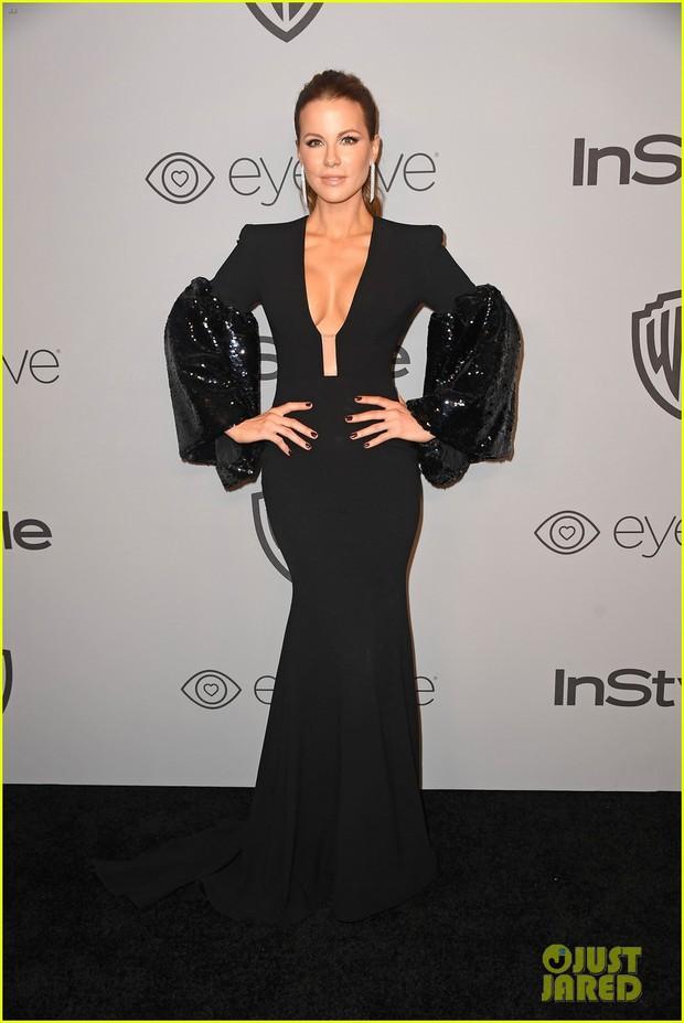 Miranda Kerr bụng bầu vượt mặt vẫn đẹp lộng lẫy, đọ sắc với dàn sao tại tiệc hậu Quả Cầu Vàng - Ảnh 8.