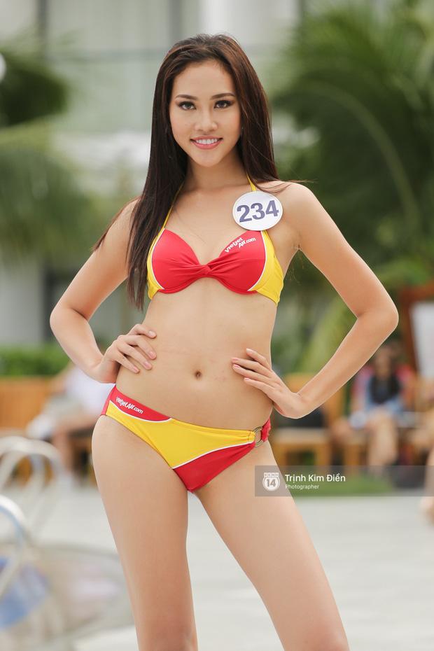 Khởi đầu mờ nhạt nhưng cô nàng 1m80 này lại liên tiếp lọt Top cao tại Hoa hậu Hoàn vũ VN 2017 - Ảnh 14.