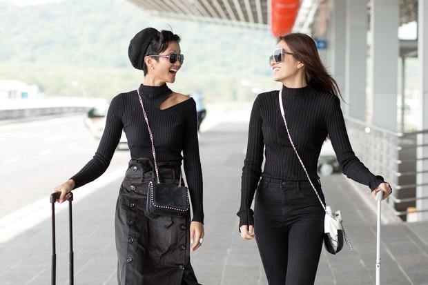 Kệ cánh stylist khẩu chiến, Hoa hậu HHen Niê cứ khoe street style đầu tiên của mình cái đã - Ảnh 4.