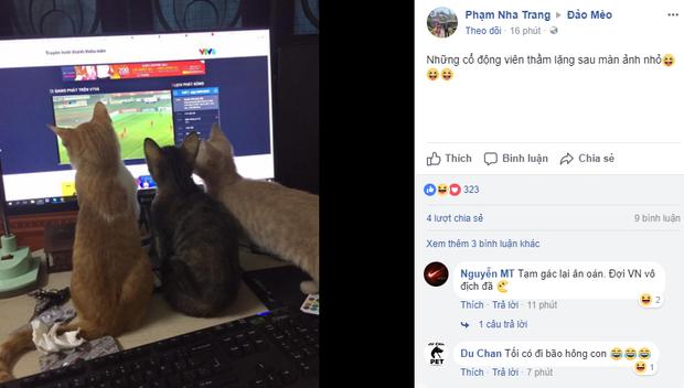 Chùm ảnh: Những con boss từ khắp đất nước cùng sen cổ vũ tuyển U23 chiến thắng! - Ảnh 3.