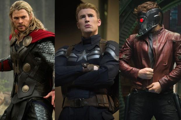 Deadpool Ryan Reynolds chọn ai là chàng Chris nóng bỏng nhất Vũ trụ Điện ảnh Marvel? - Ảnh 1.