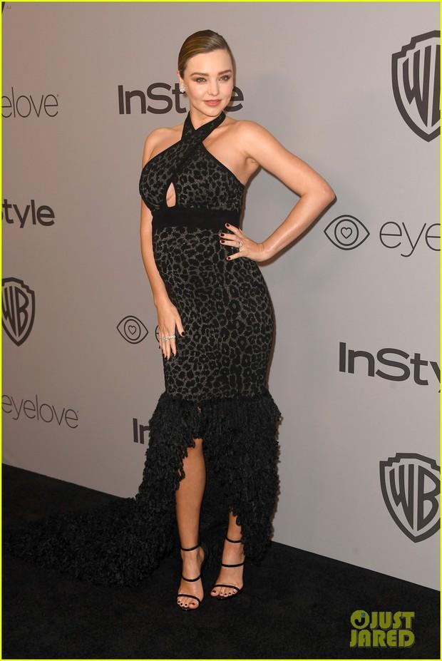 Miranda Kerr bụng bầu vượt mặt vẫn đẹp lộng lẫy, đọ sắc với dàn sao tại tiệc hậu Quả Cầu Vàng - Ảnh 7.